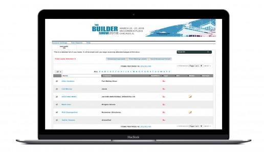 Trade Show Registration, Data Analytics and Lead Retrieval