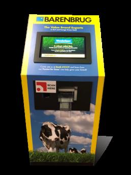 contactless kiosk